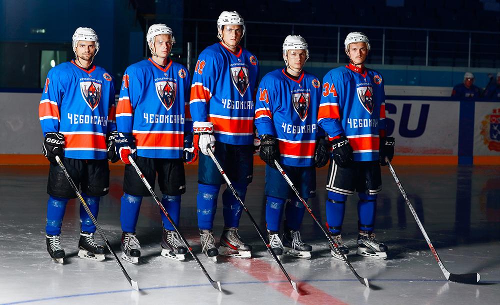 Команда хоккейного клуба чебоксары